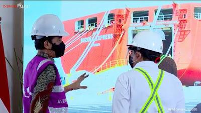 Soft Launching, Pelabuhan Internasional Patimban Lakukan Ekspor Perdana 140 Unit Mobil