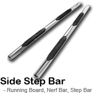 Side Step Nerf Bar, Running Board