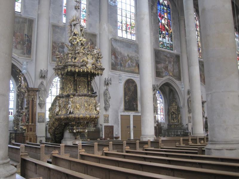 Штраубинг, Якобскирхе. Straubing, jakobskirche