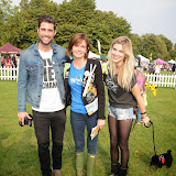 WWW.ENTSIMAGES.COM -    Matt Johnson, Annabel Giles and Ashley James  at        Pup Aid at Primrose Hill, London September 6th 2014Puppy Parade and fun dog show to raise awareness of the UK's cruel puppy farming trade. Pup Aid, the anti-puppy farming campaign started by TV Vet Marc Abraham, are calling on all animal lovers to contact their MP to support the debate on the sale of puppies and kittens in pet shops. Puppies & Celebrities Return To Fun Dog Show Fighting Cruel Puppy Farming Industry.                                              Photo Mobis Photos/OIC 0203 174 1069