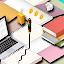 Desk Task Icon