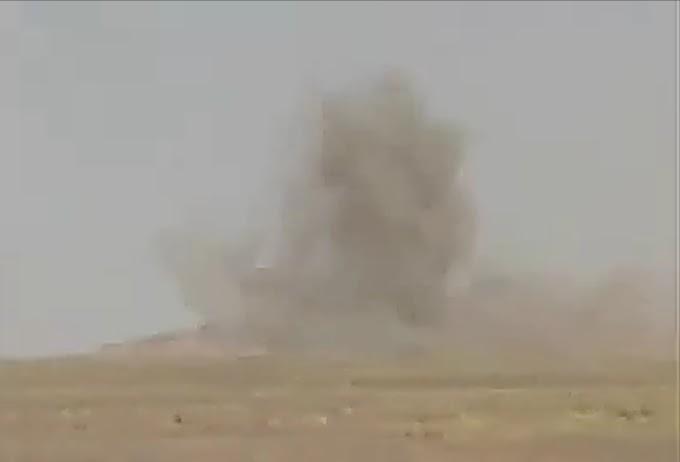 El Ejército Saharaui destruye una base militar marroquí en Al Bagari.