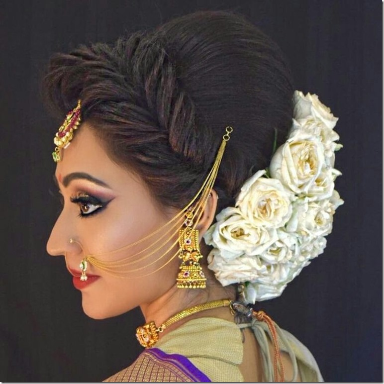 Indian Wedding Hairstyles (41)