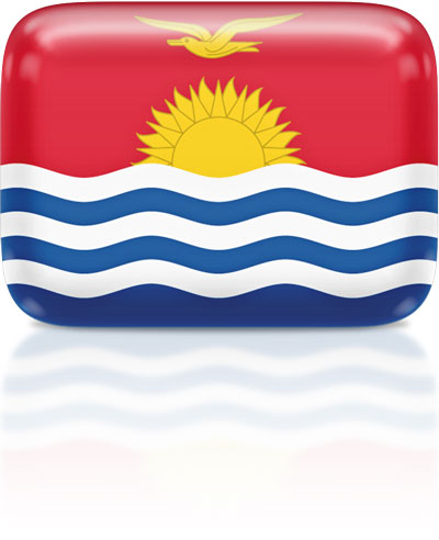 I-Kiribati flag clipart rectangular
