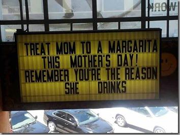 treat mom to margarita