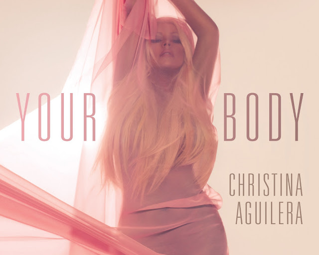 Christina Aguilera - Your Body promo poster