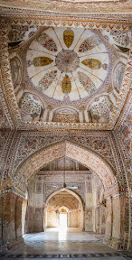 Interior of Mosque inside Sadiq Garh Palace, Bahawalpur