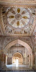 Interior of Mosque inside Sadiq Garh Palace, Bahawalpur