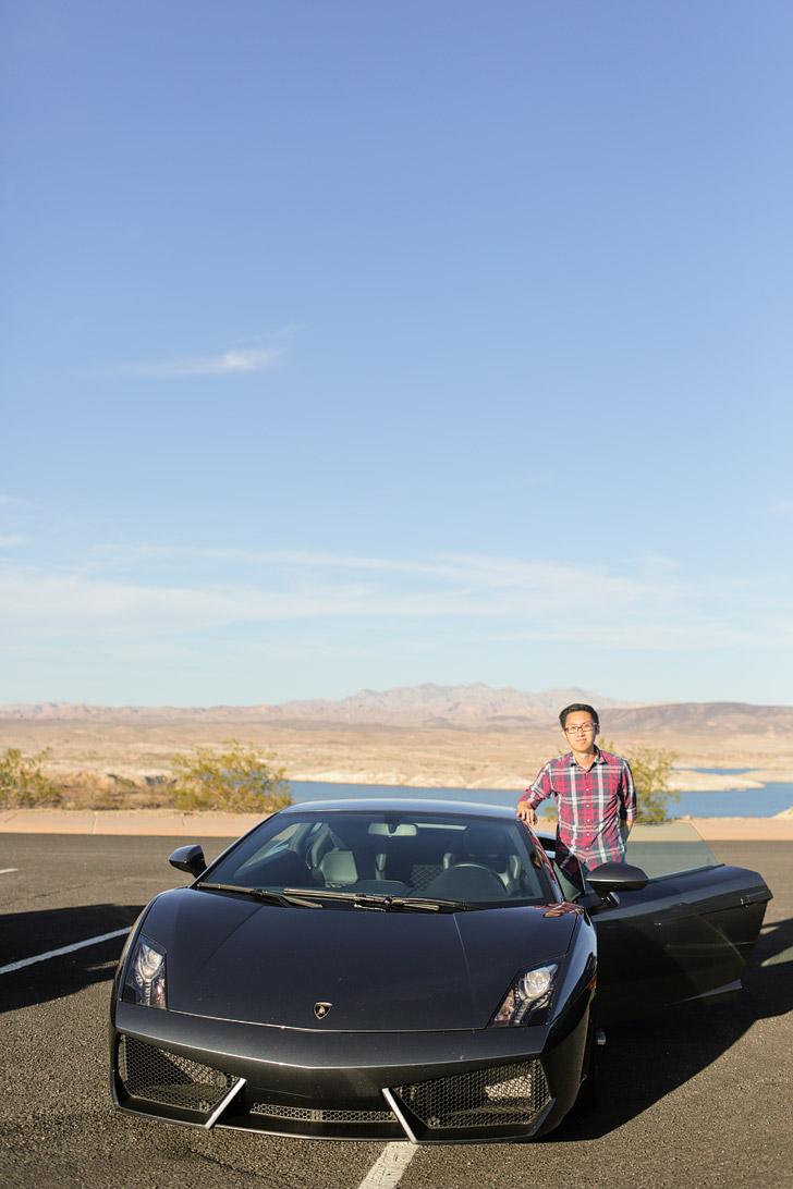 Lamborghini Test Drive.