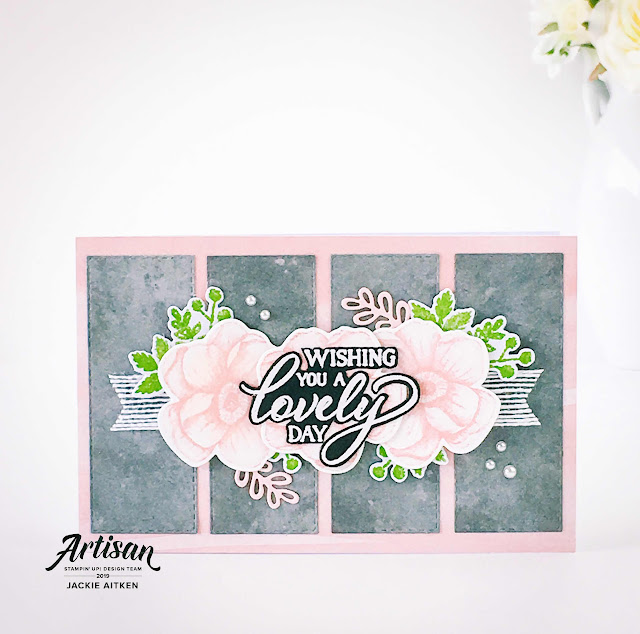 jaxxcraftycreations, Stampin Up, Sale-a-Bration 2019, Painted Seasons, More Than Words, Story Label Punch, Botanical Butterfly DSP,