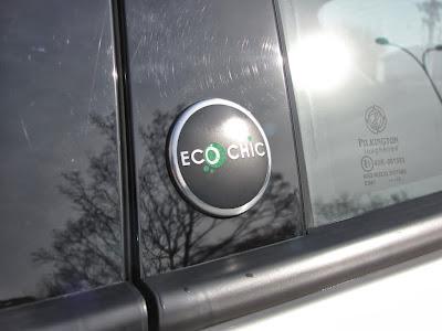 Lancia Ypsilon EcoChic. Ten znaczek mówi wszystko: Jestem ekologicznym autem!