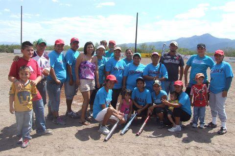 Equipo Shaday del softbol femenil del Club Sertoma