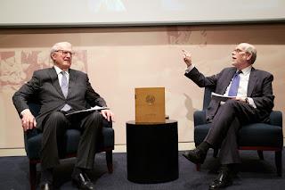 A Conversation with Ambassador William J. vanden Heuvel