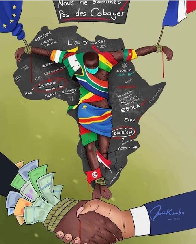 Africa como laboratorio africanos como ratas: Medicos franceses plantean experimentar vacuna contra Covid-19 en África