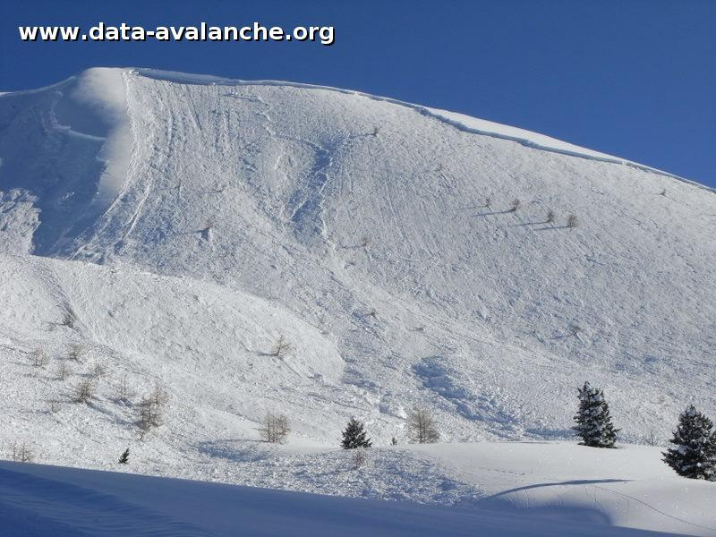 Avalanche Queyras, secteur Ceillac, Tête de Coste Belle - Photo 1