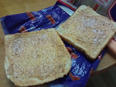 roti  , makanan diet , sheisfarahain , menu diet