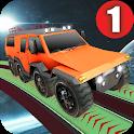 Mega Cars Space Stunt Drive Game icon