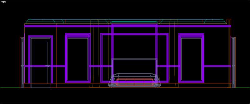 SketchUp - กำหนดการแสดงผลของ SketchUp ให้เหมือนกับการทำงานบน AutoCAD Sutocad01