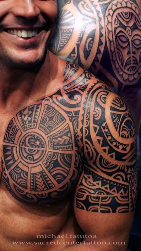 tribal_peito_tatuagens_para_homens