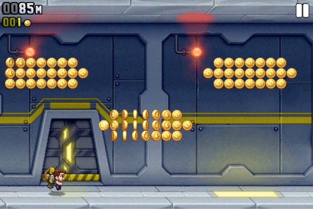 Jetpack Joyride iPhone, iPad, iPod touch and Android (Google Play) free app