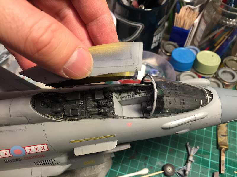 1/32 Revell Typhoon Work In Progress - Finished - SimHQ Forums