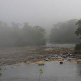 Brume matinale sur Saut Athanase, 7 novembre 2012. Photo : J.-M. Gayman