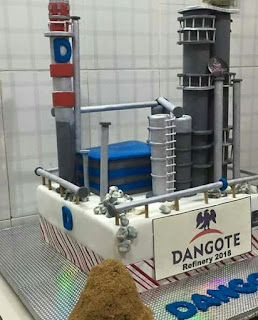 Dangote refinery cake