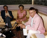 Intervista a Carmelo Bene ( agosto 1987)  con la contessa Anna Leopardi a Recanati