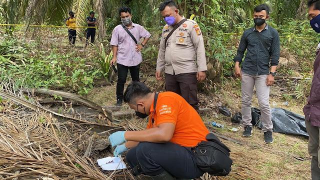 Mayat remaja Ditemukan tanpa kepala di areal Perkebunan kelapa sawit PT PAL