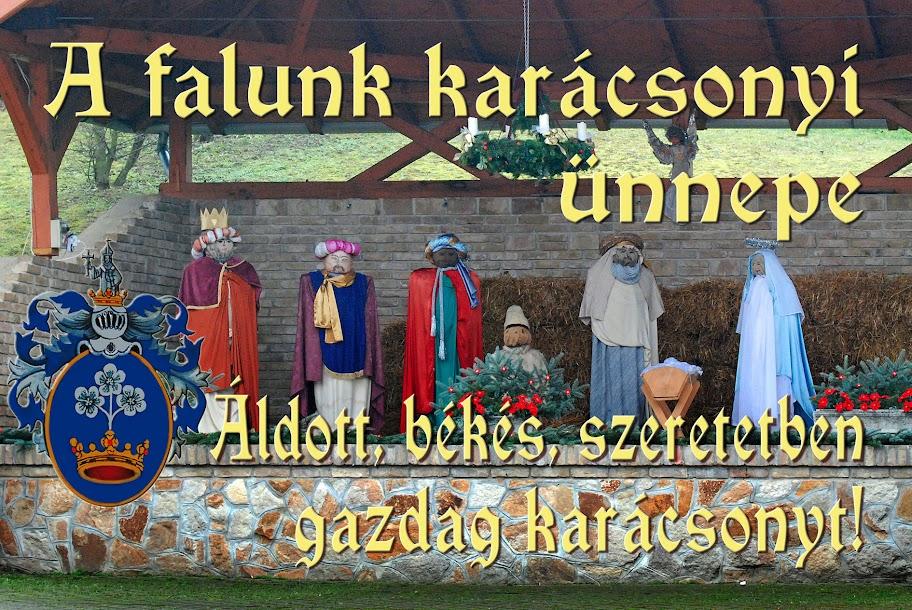 Karácsonyi ünnepség Berkenyén - 2015.12.19.