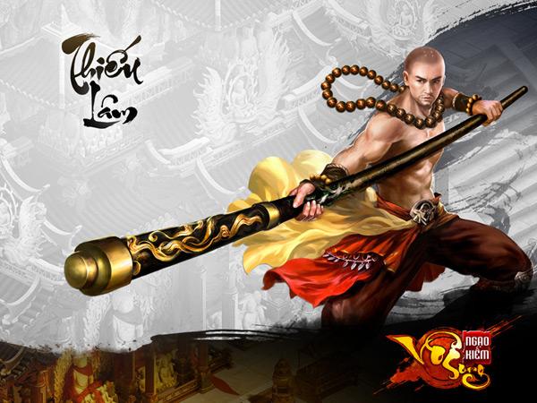Tuyệt kỹ của Thiếu Lâm trong Ngạo Kiếm Vô Song 1