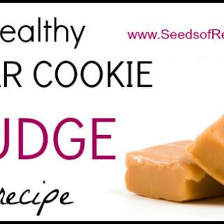 Healthy Sugar Cookie Fudge