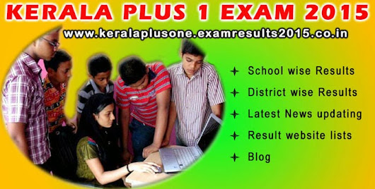 Kerala plus one exam results 2015