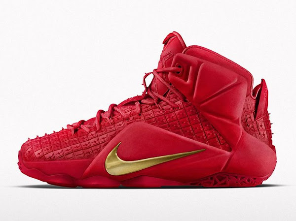 Nike Brings Red Rubber City LeBron 12 EXT to Nike iD