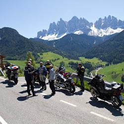 Motorrad Pass Würzjoch Passo delle Erbe