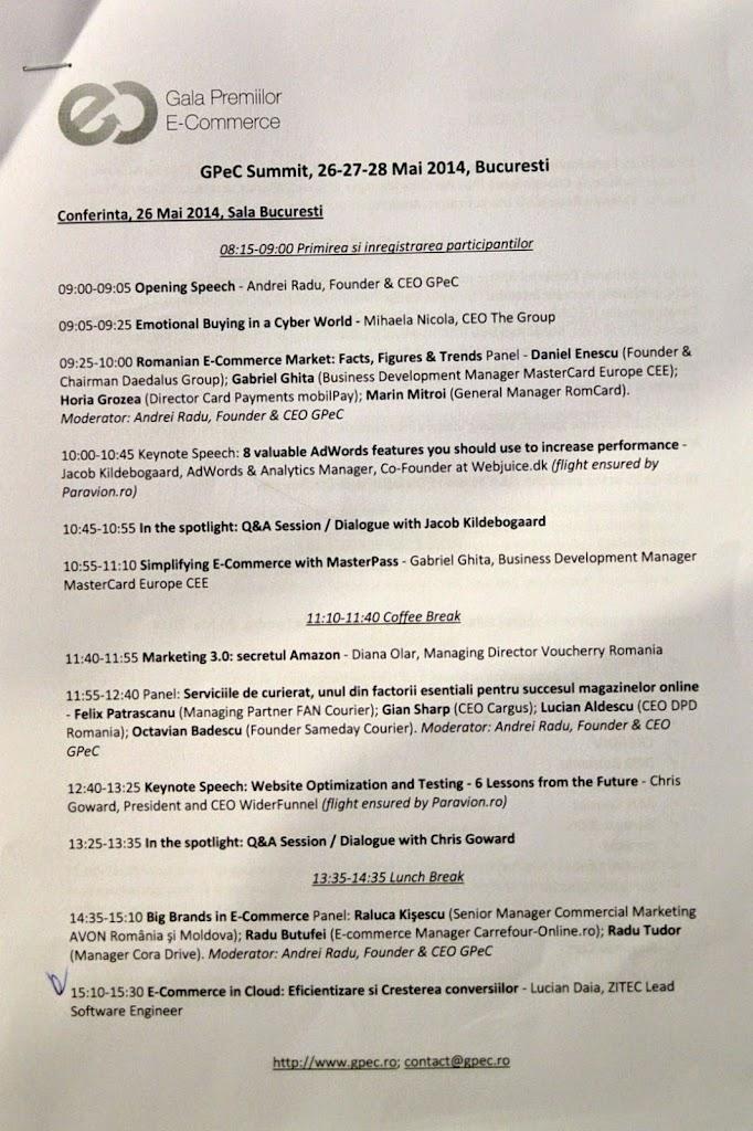 GPeC Summit 2014, Ziua 1 682