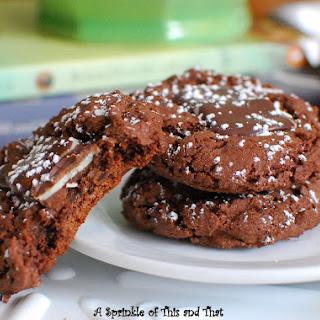 Creme de Menthe Chocolate Cookies