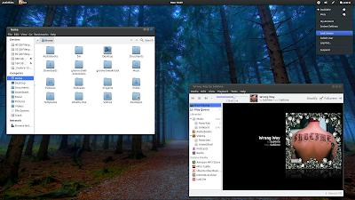 Ambiance Blue GNOME Shell Ubuntu 11.10