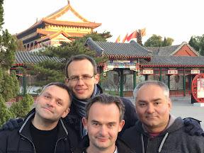Thank you China! At the Forbidden City 2014