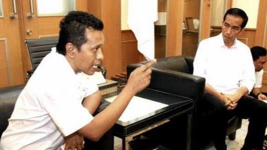 Sehari Setelah Kritik Keras Erick Thohir, Adian Napitupulu Dipanggil Jokowi ke Istana, Ada Apa?