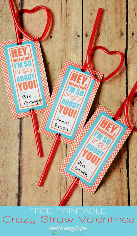 free printable crazy straw valentines (1)