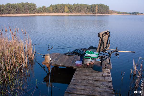 Моє робоче місце на рибалці