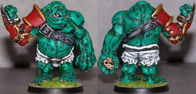 Blood Bowl Troll Impact
