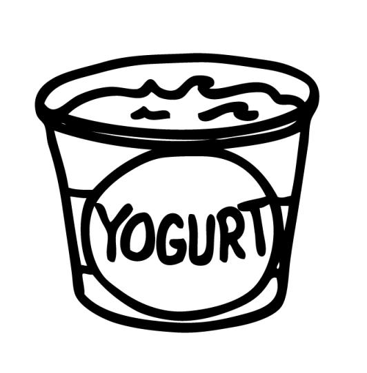 Dibujos De Yogurt Para Pintar