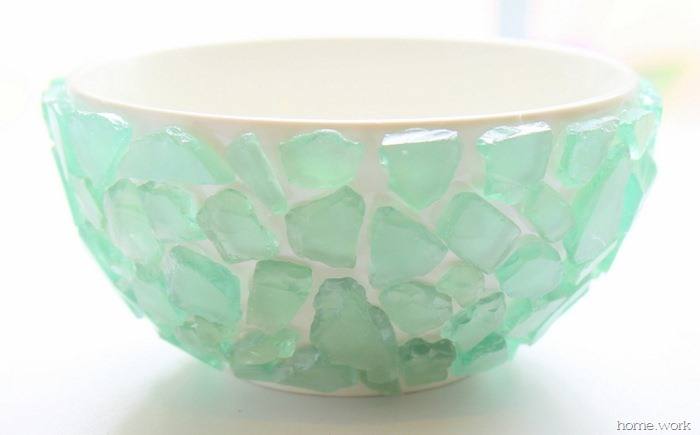 Sea Glass Succulent Bowl - homework (8)