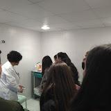 2018-01-17 CAI visita el Banc de Sang de l'Hospital de Bellvitge