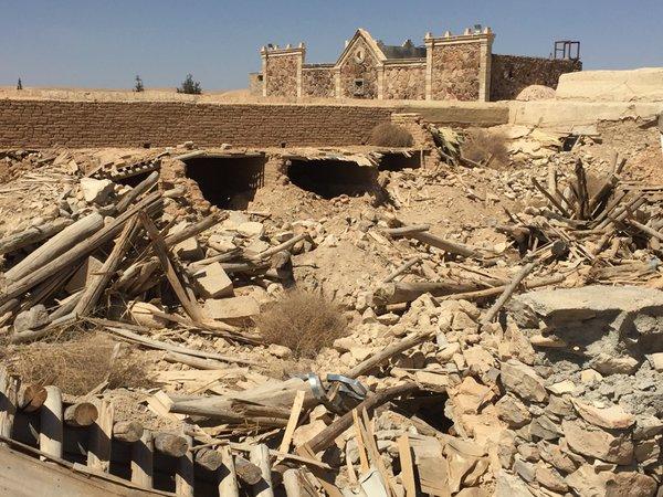 Muslim terrorists desecrate Christian saints' bones
