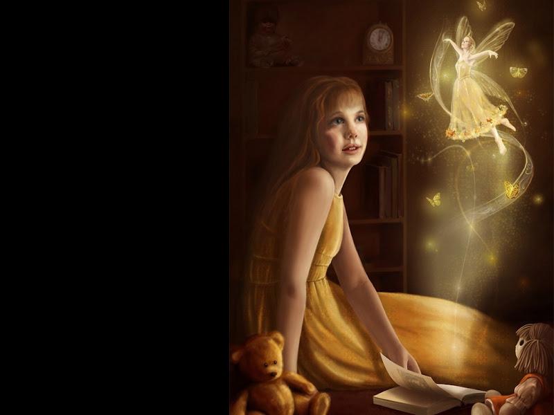 Mysterious Faerie Woman, Fairies 1