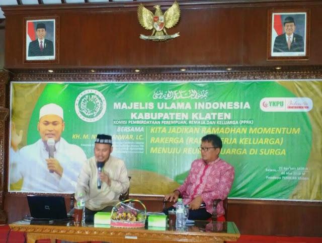 MUI Klaten, Jadikan Ramadhan Momentum Rakerga