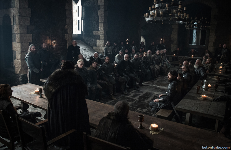 "Game of Thrones 7x01: ""Rocadragón"""
